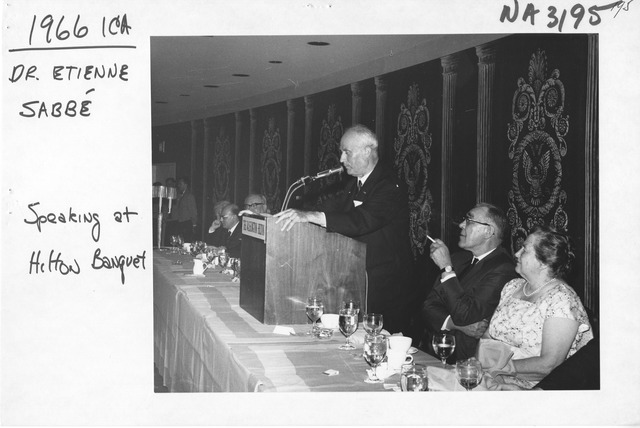Photograph of State Department Luncheon for International Council on Archives Extraordinary Congress