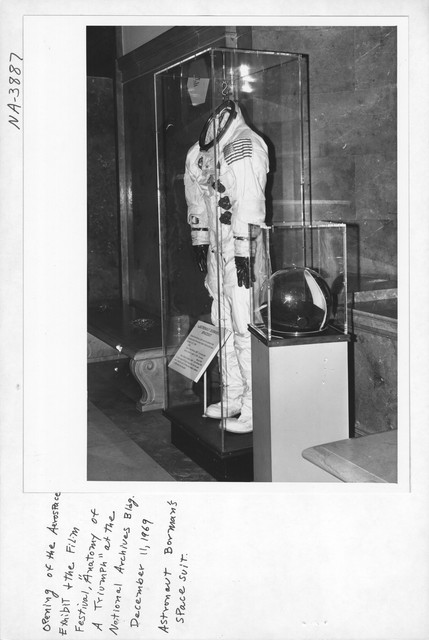 Photograph of the Opening of the Aerospace Exhibit and Film Festival