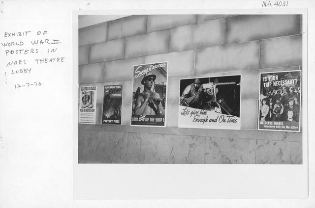 Photograph of World War II Film Festival