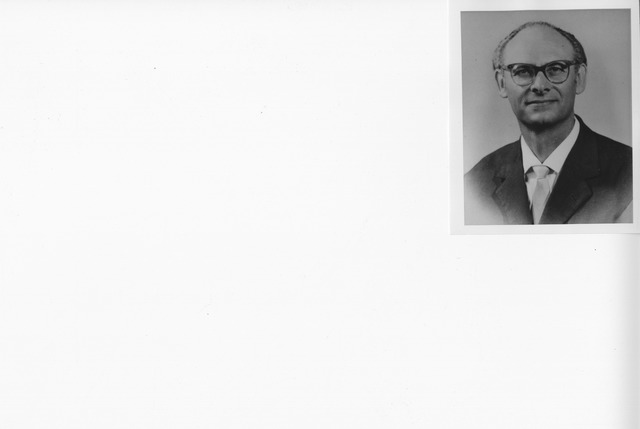 Portrait Photograph of Dr. Antonio Lombardo, Inspector General, Archives of the State Italy