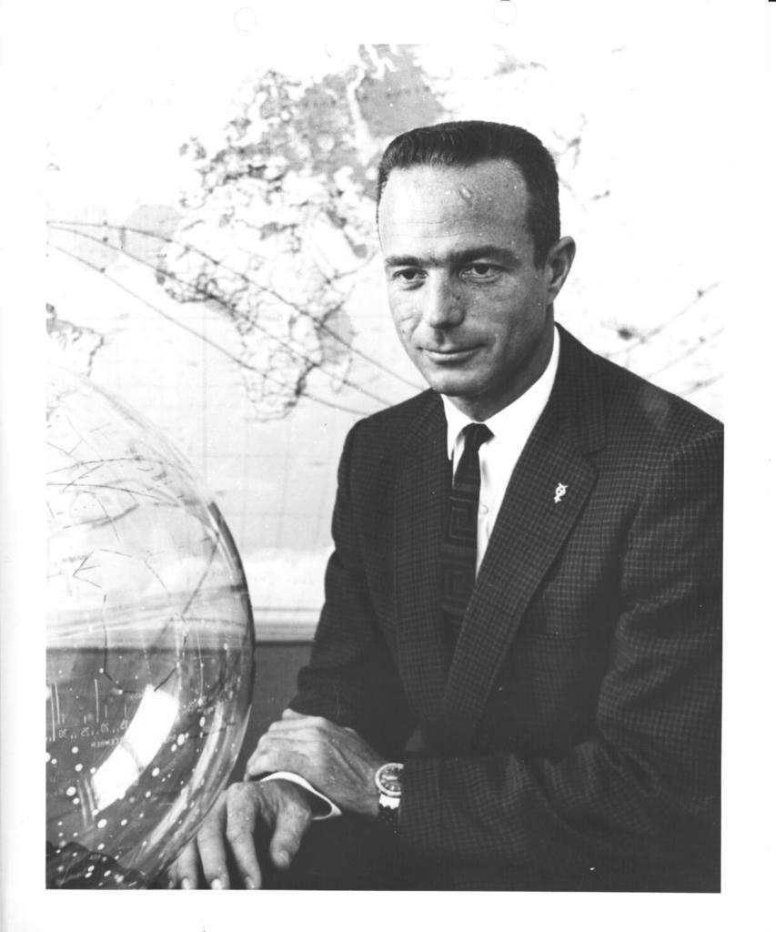 Photograph of Astronaut Malcolm Scott Carpenter