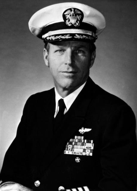 CAPT. Thomas G. Moore, USN (covered) CO, USS RANGER (CV-61), 1978-1979