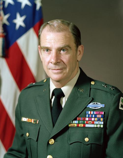 Major General Richard X. Larkin, USA (uncovered)