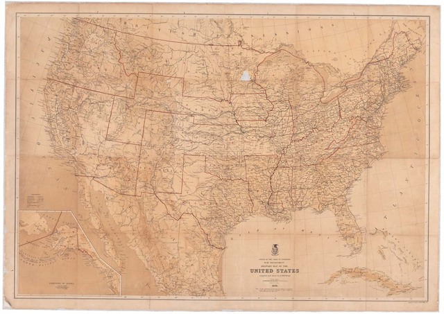 Military Map of the United States