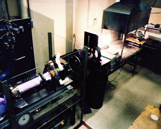 A 15 kilowatt carbon dioxide electric discharge laser used to investigate the effect of laser radiation on various materials is operated at the Air Force Weapons Laboratory