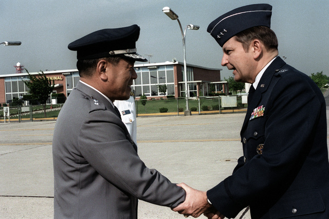 Members of the 437th military airlift wing airlift for Chair joint chiefs of staff