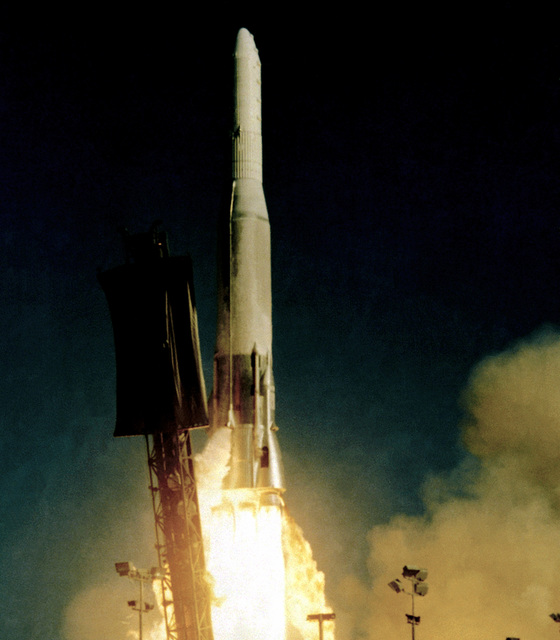 An Atlas missile is launched from Complex 3E
