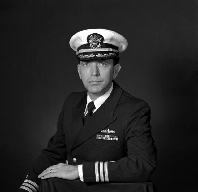 CDR David M. Cashman, USN (covered)