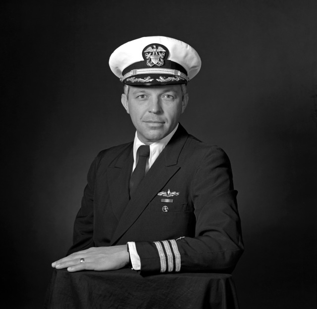 CDR Ronald W. Harding, USN (covered)