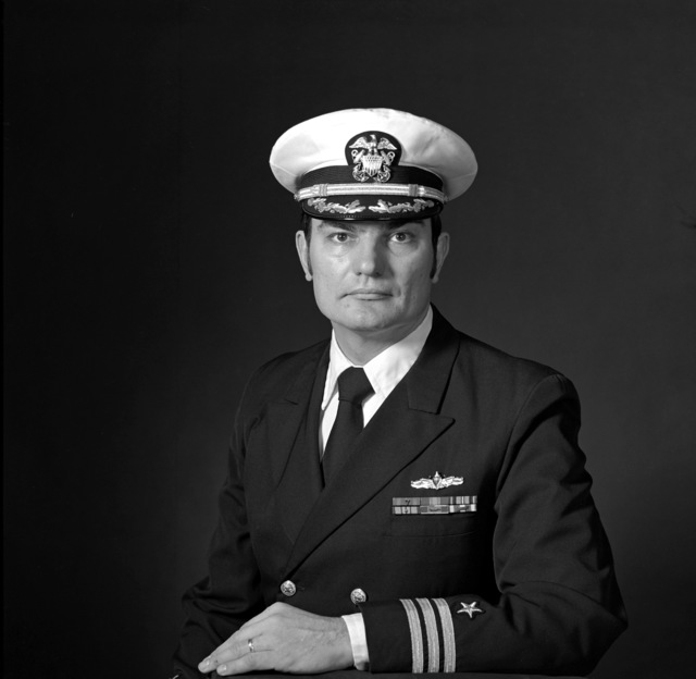 CDR Walter S. Collins, USN (covered)