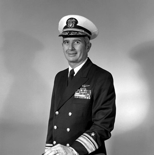 RADM James E. McCardell, USN (covered)