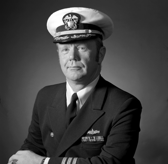 CDR Peter Keith Glasier, USN (covered)