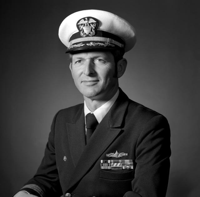 CDR Thomas E. Morin, USN (covered)