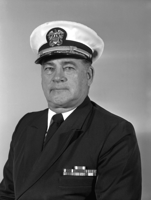 RDML Winston H. Weese, MC, USNR (covered)