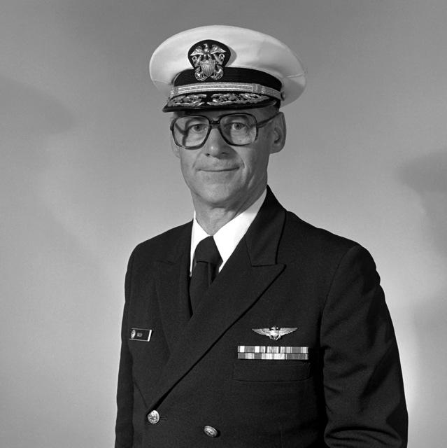 RADM Bernard E. Nash, USNR (Ret.) (covered)