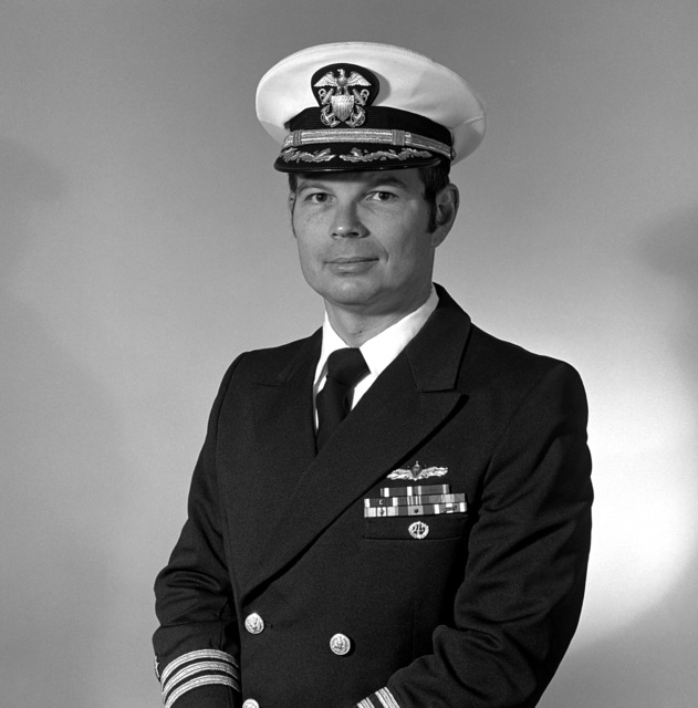 CDR James W. Dowdy, USNR (covered)