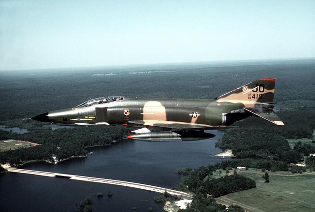 RF-4C Phantom II aircraft of the 62nd Tactical Reconnaissance Squadron, 363rd Tactical Reconnaissance Wing