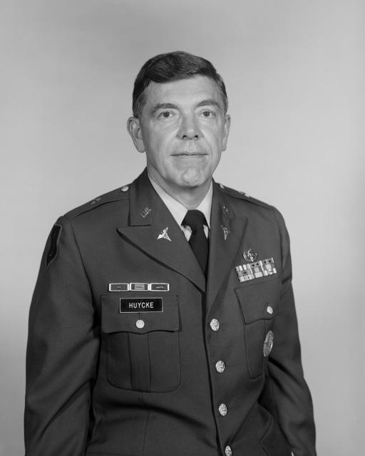 BGEN Edward J. Huycke, USA (uncovered)