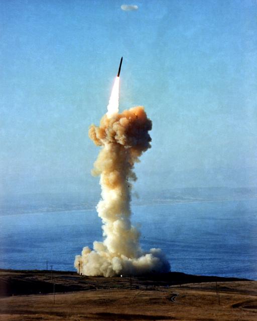 A Minuteman III launch
