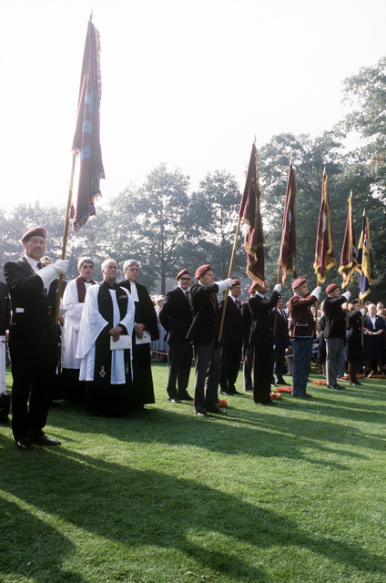 Dutch priests engage in the 36th Annual Remembrance of the Battle of Arnhem