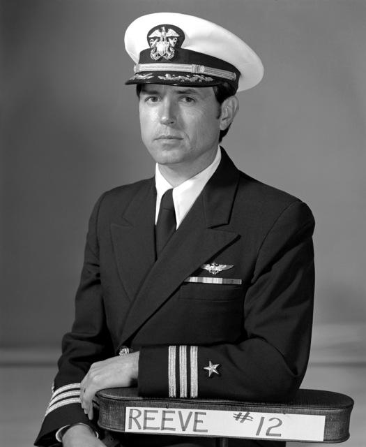 CDR Wayne G. Reeve, USNR (Ret.) (covered)
