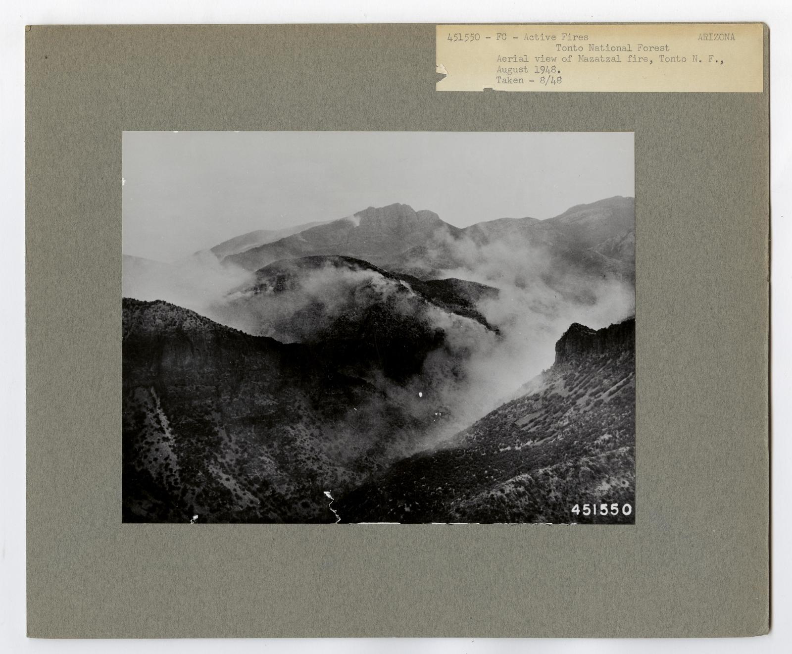 Active Fires - Arizona