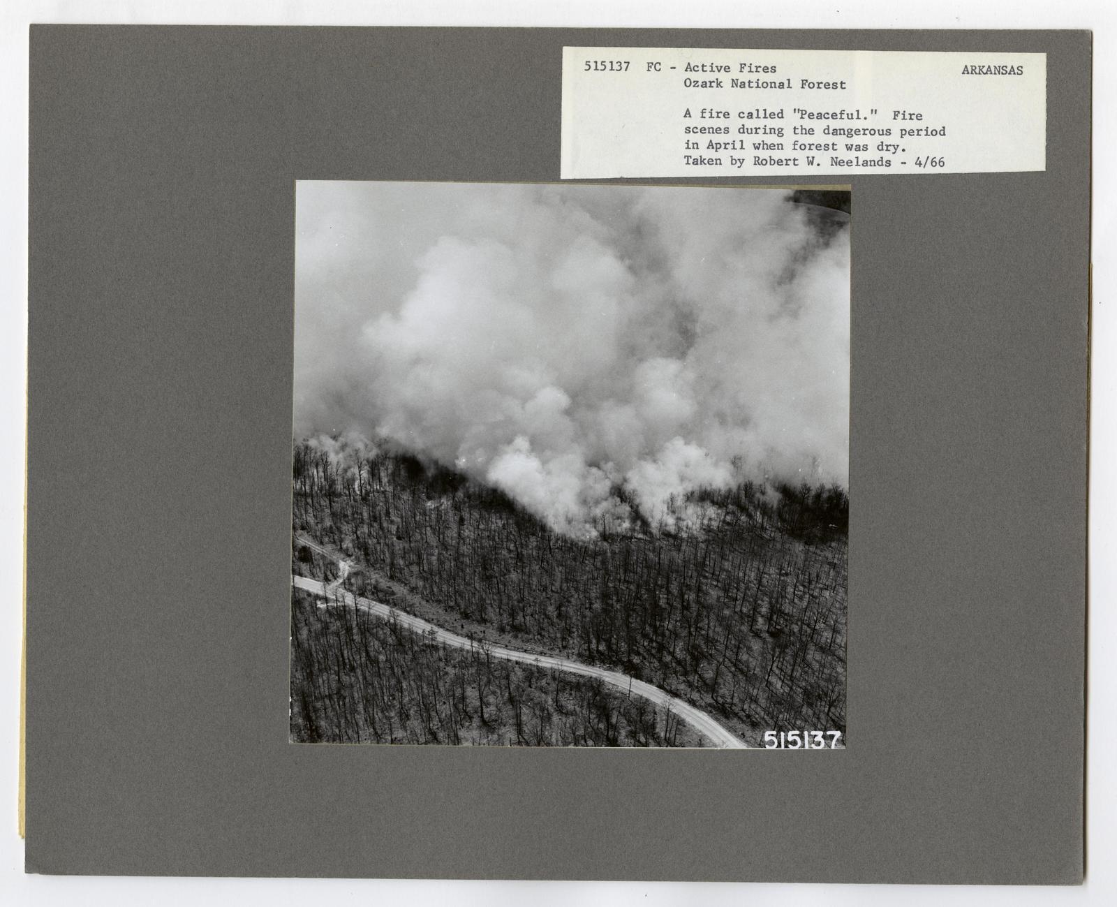 Active Fires - Arkansas