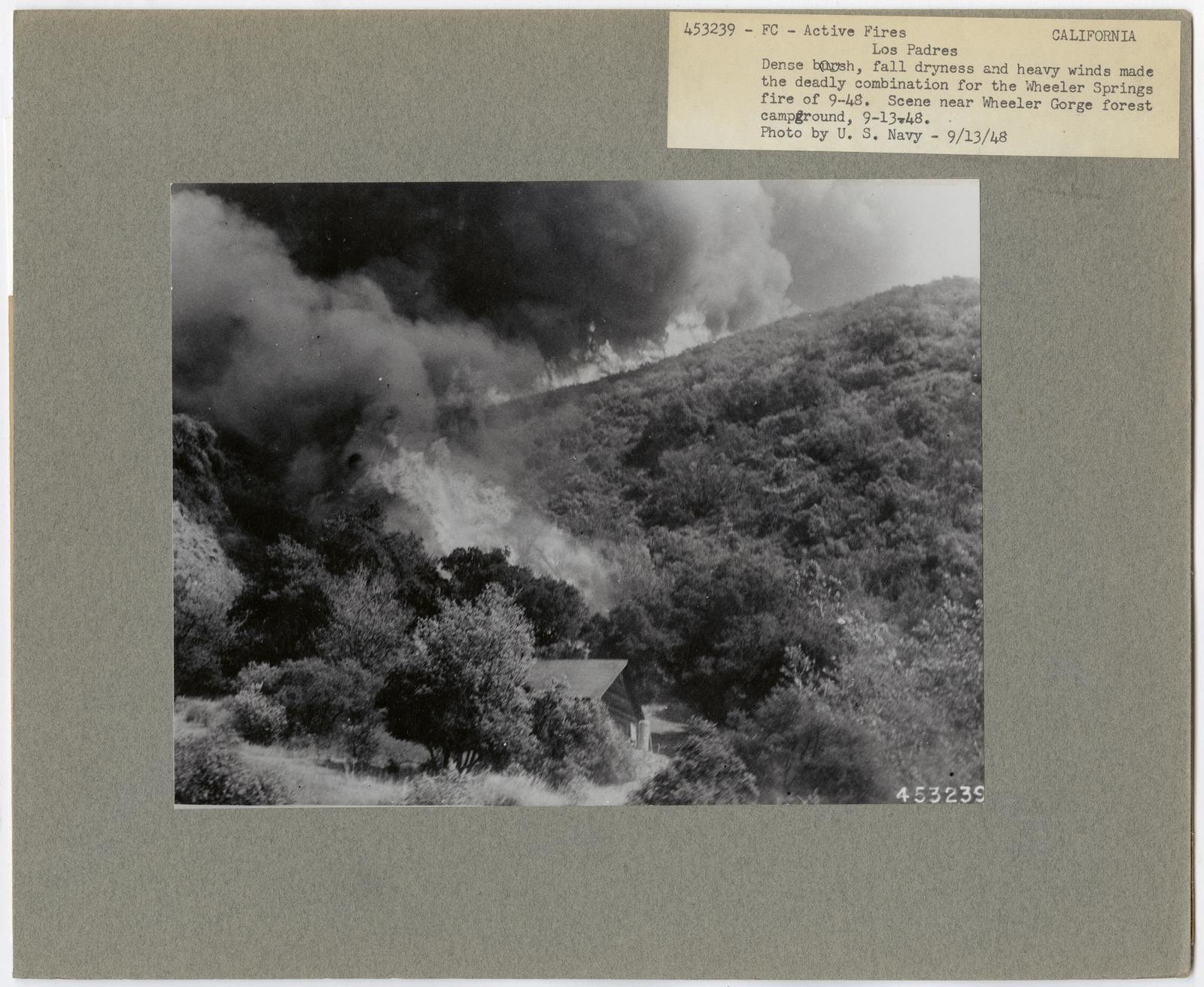 Active Fires - California