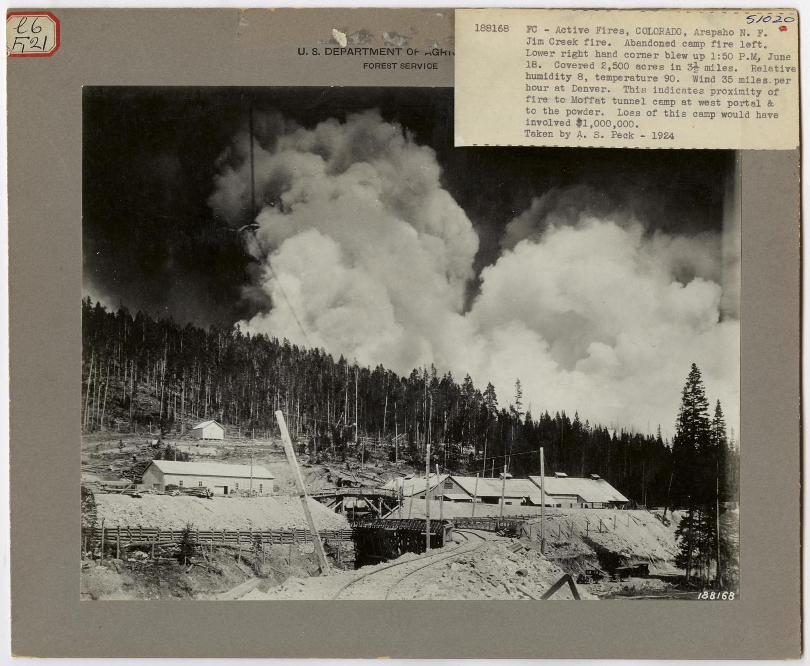Active Fires - Colorado