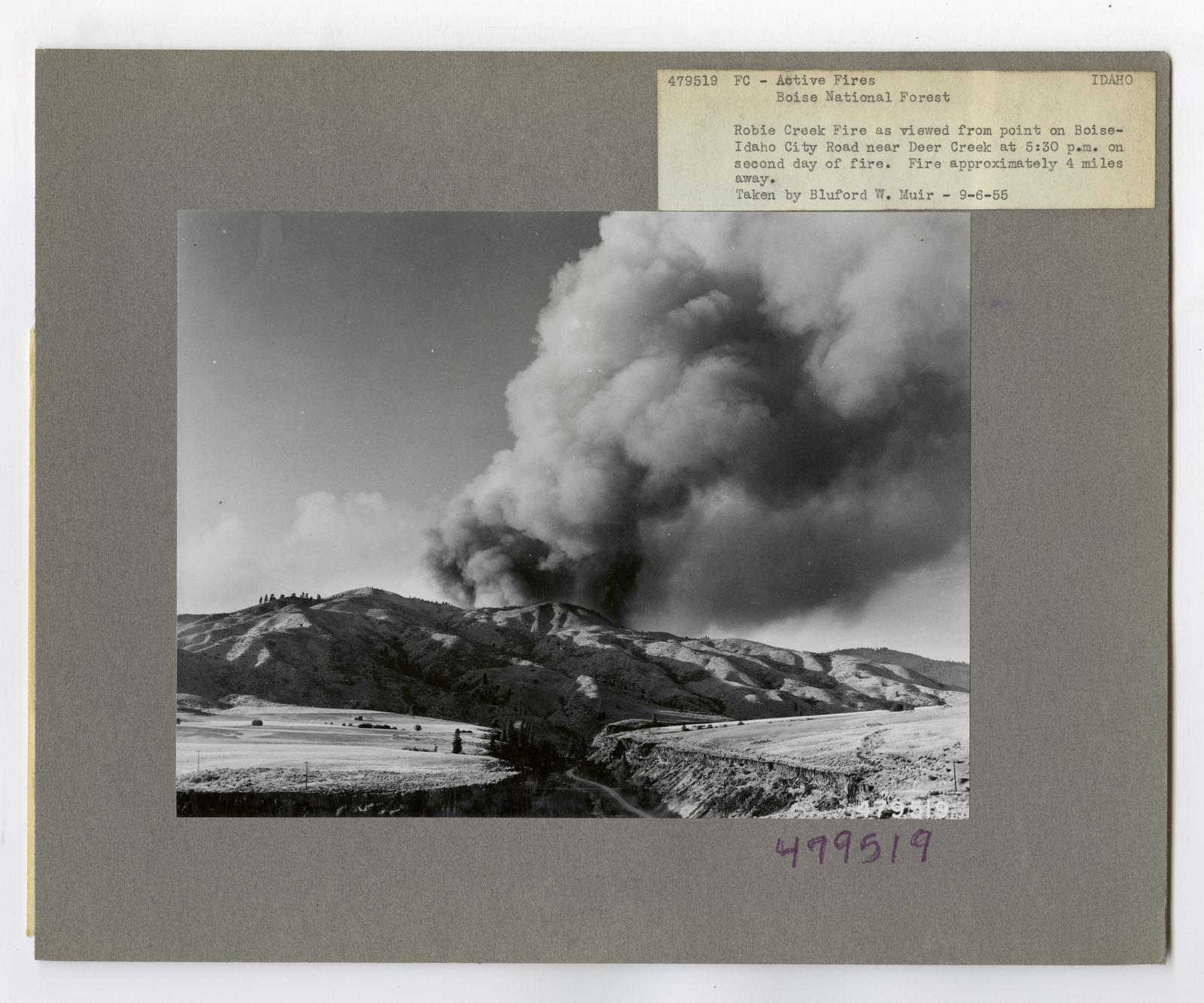 Active Fires - Idaho