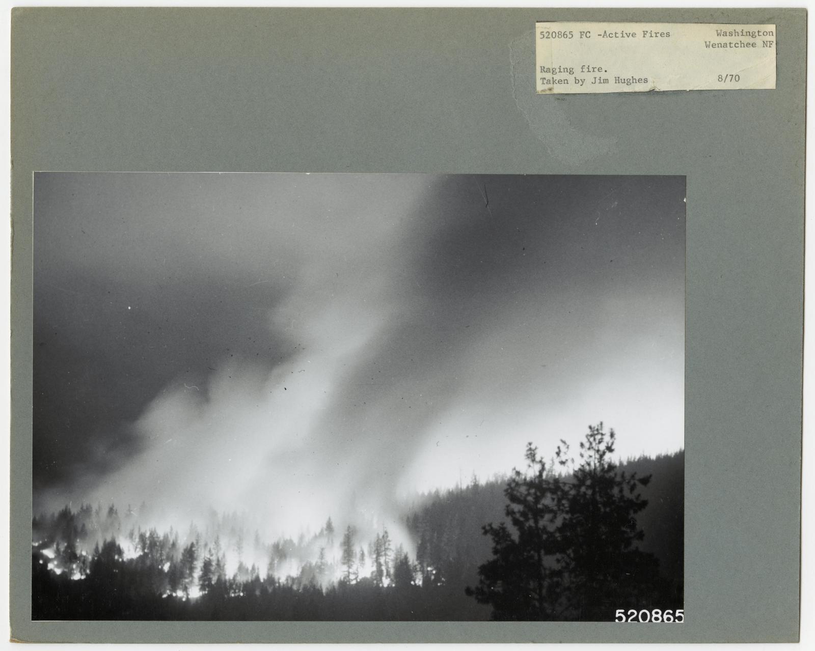 Active Fires - Washington