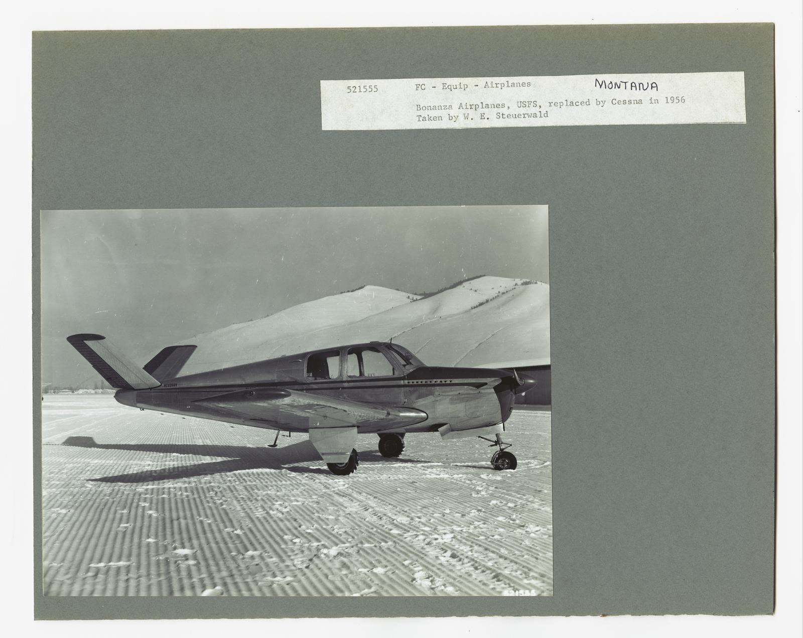 Aircraft and Airports - Montana   U S  National Archives