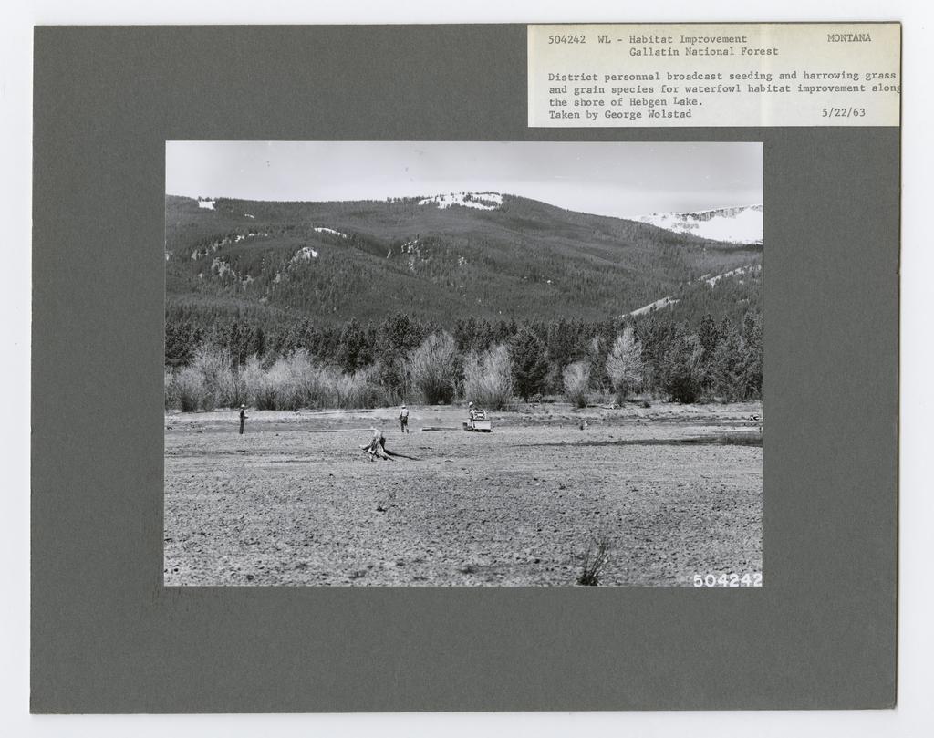 Animal Habitat Improvement - Montana