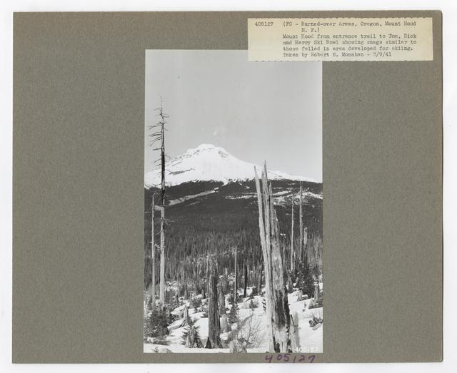 Burned -Over Areas - Oregon
