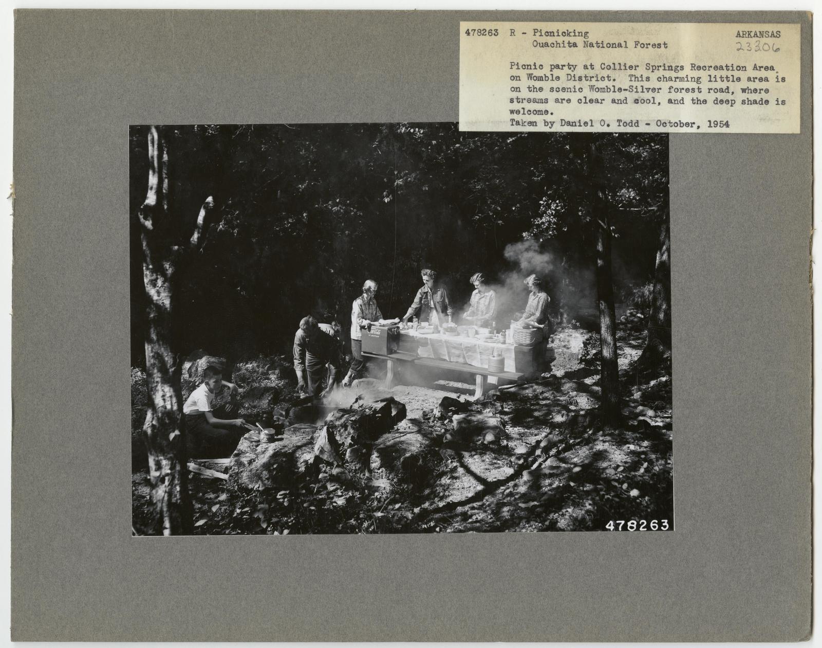 Camping and Picnicking - Arkansas