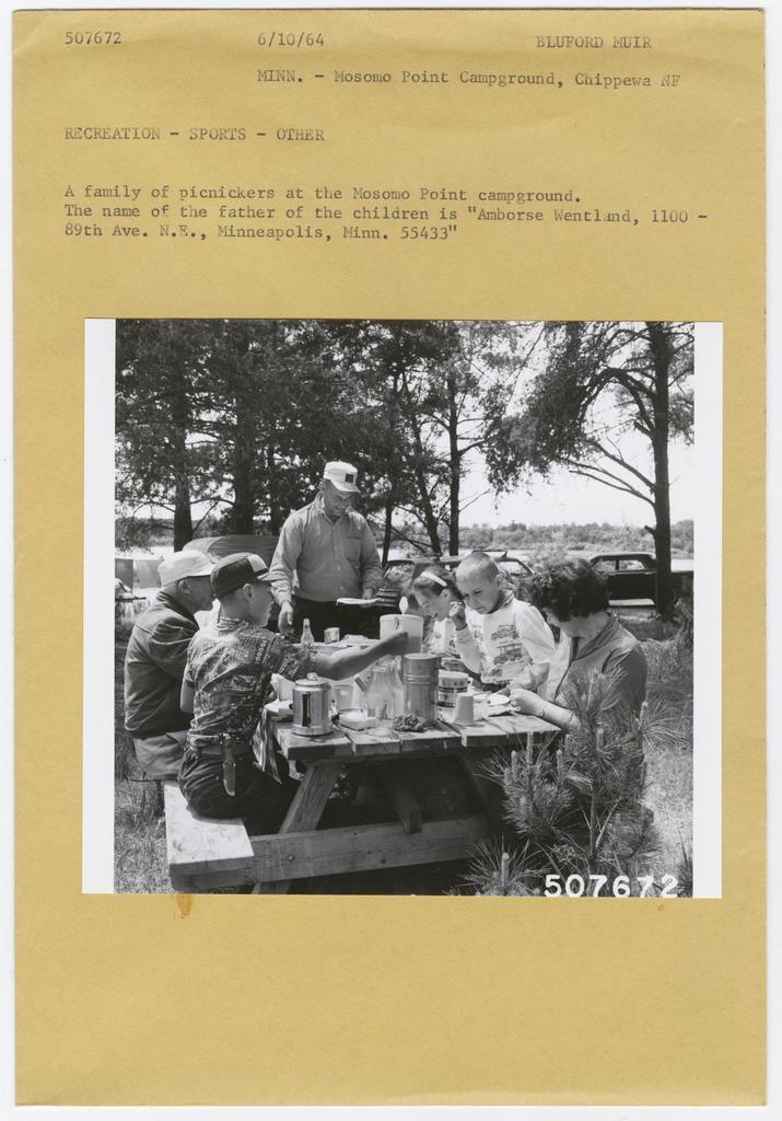 Camping and Picnicking: General