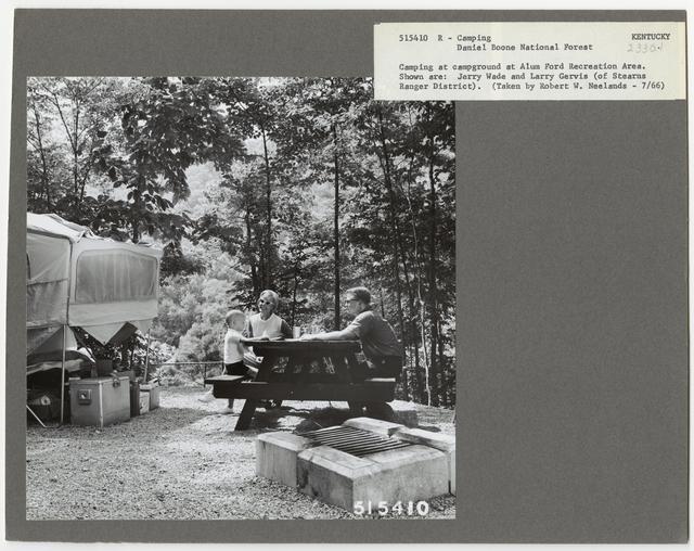 Camping and Picnicking - Kentucky