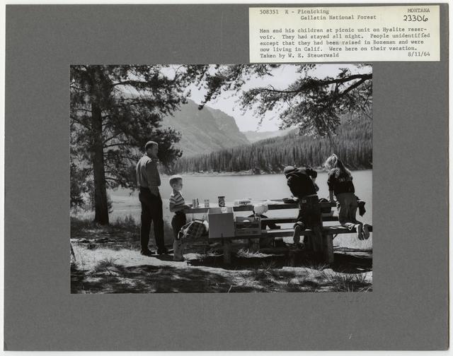 Camping and Picnicking - Montana