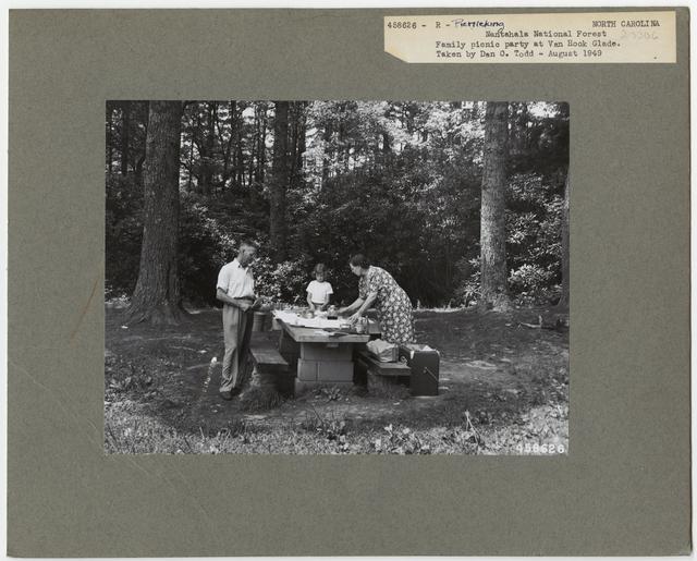 Camping and Picnicking - North Carolina