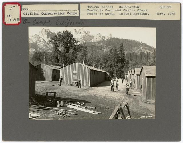 Civilian Conservation Corps - Camps - California