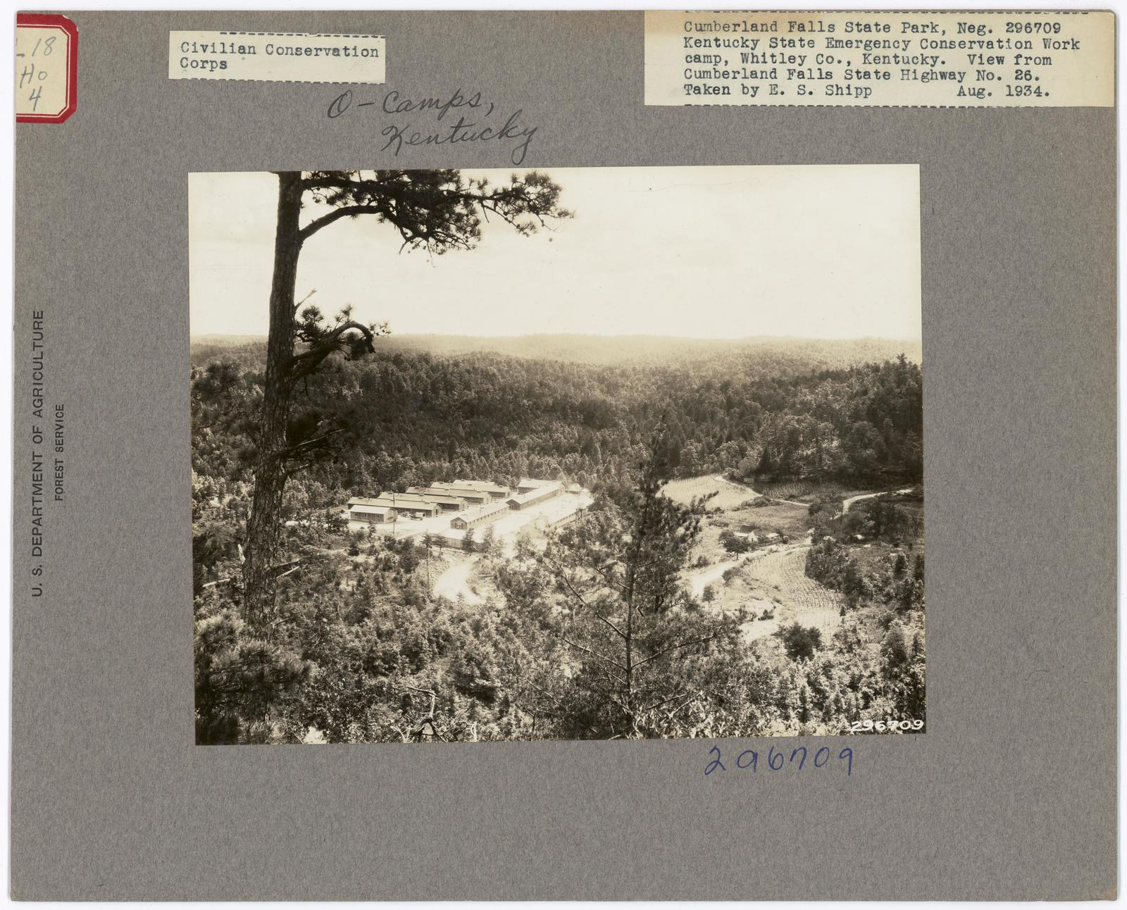 Civilian Conservation Corps - Camps - Kentucky