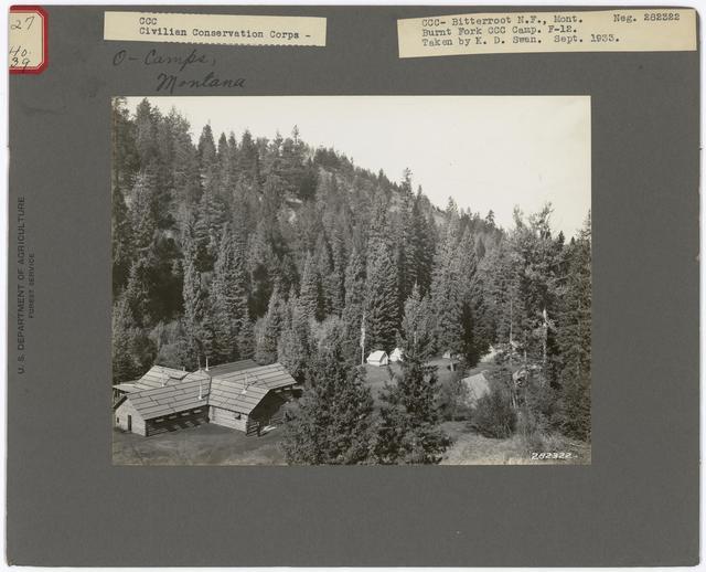 Civilian Conservation Corps - Montana