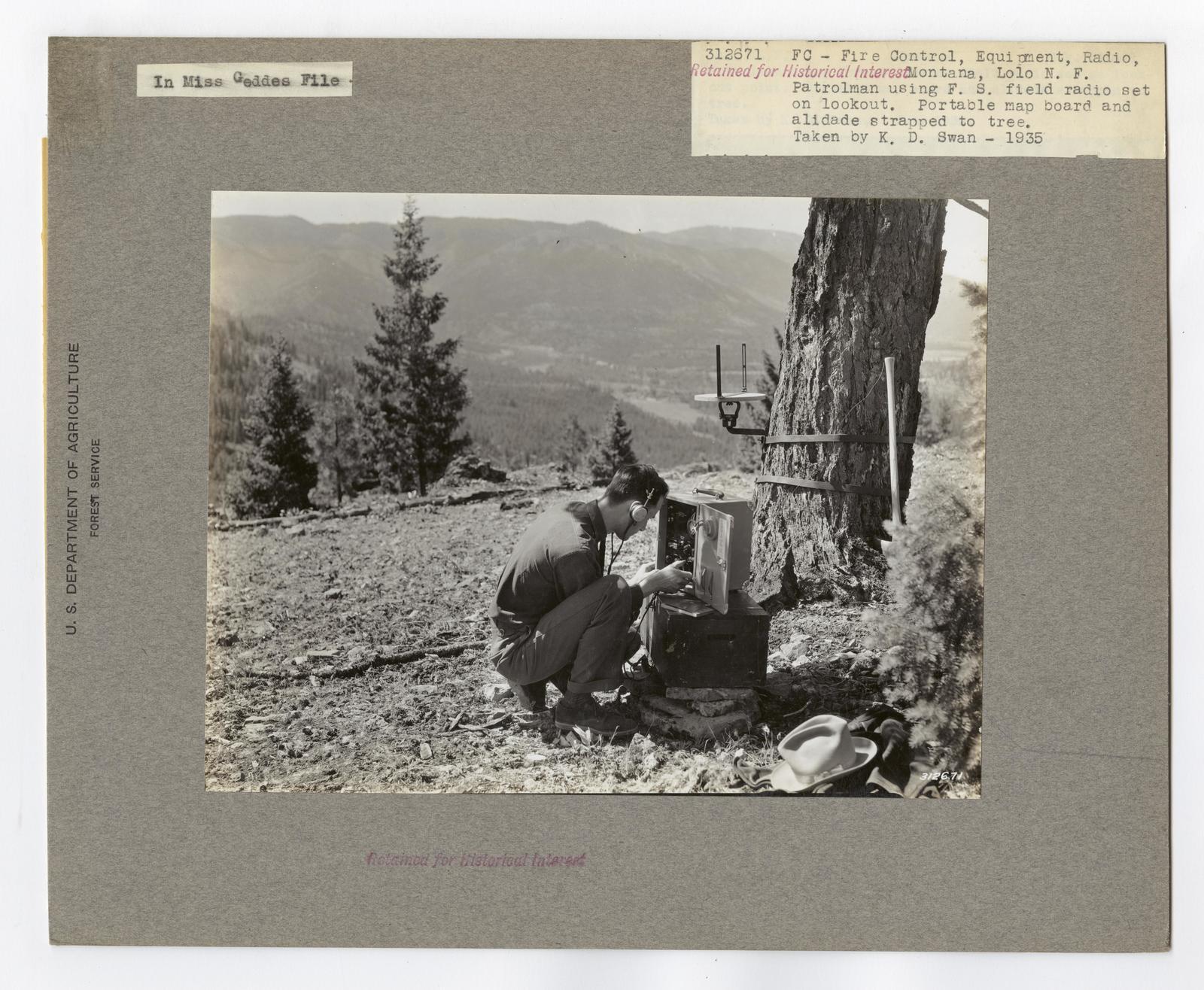 Communications: Radios - Montana