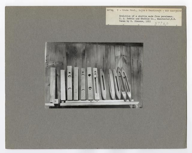 Crude Products: Bolts and Handicraft - New Hampshire