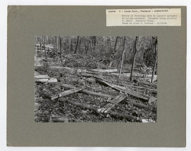 Crude Products: Fuelwood - Connecticut
