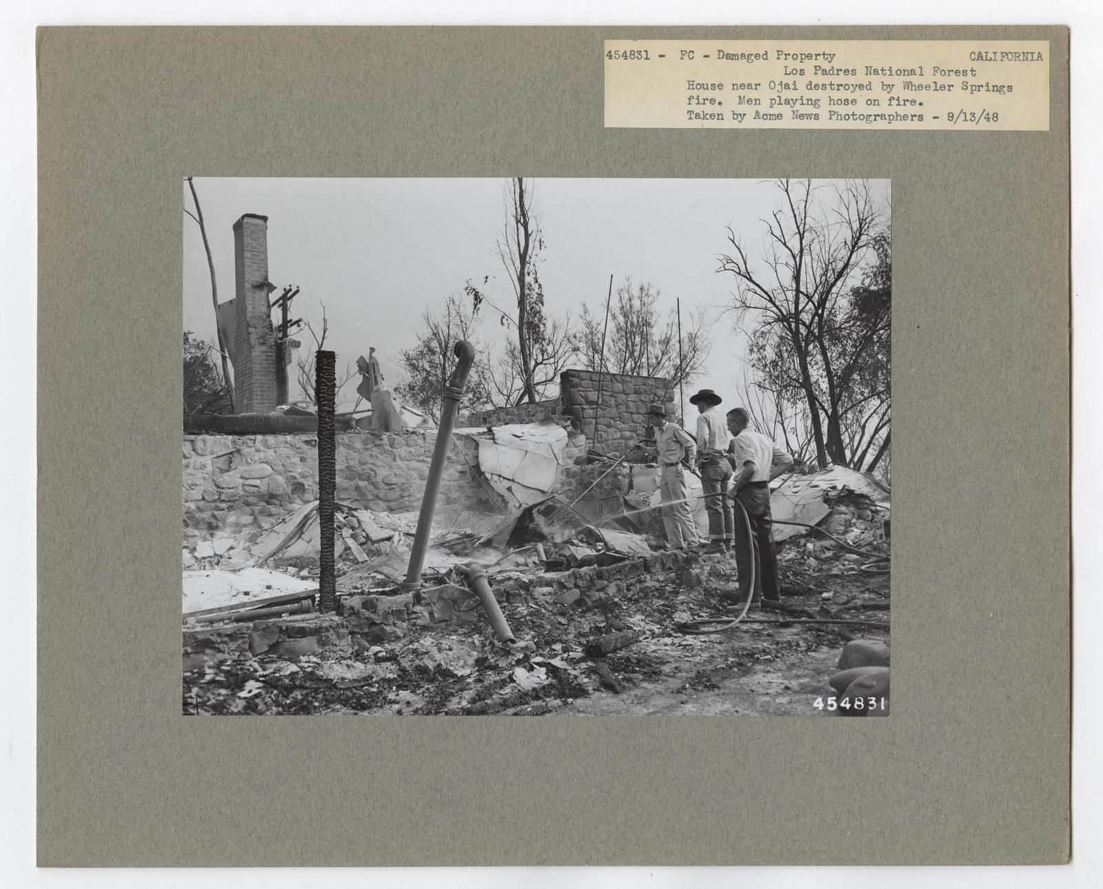 Damaged Properties - California