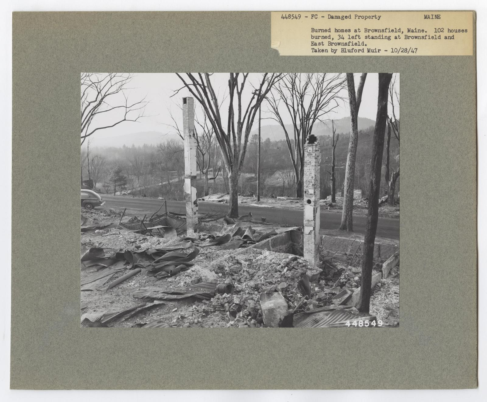 Damaged Properties - Maine