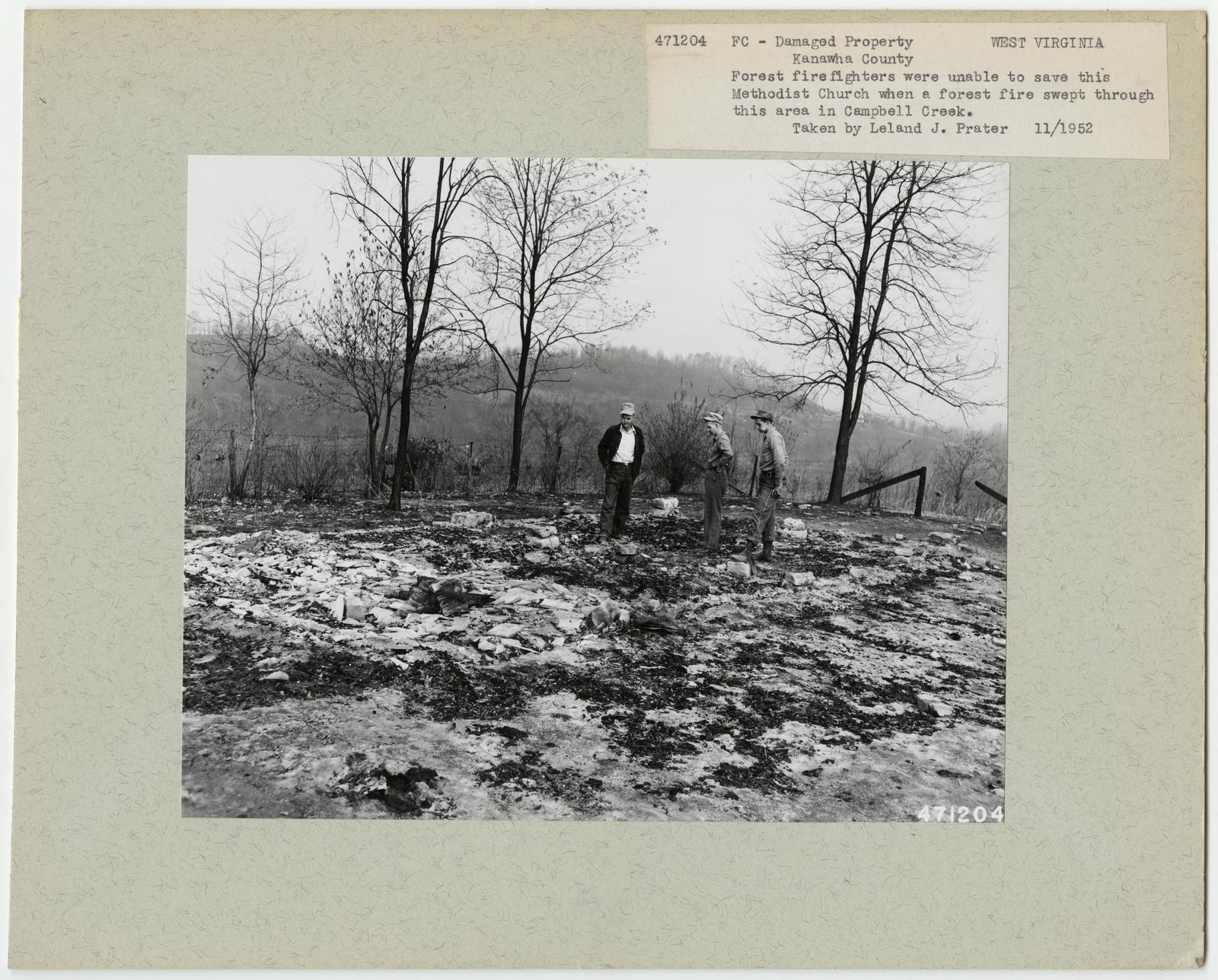 Damaged Properties - West Virginia