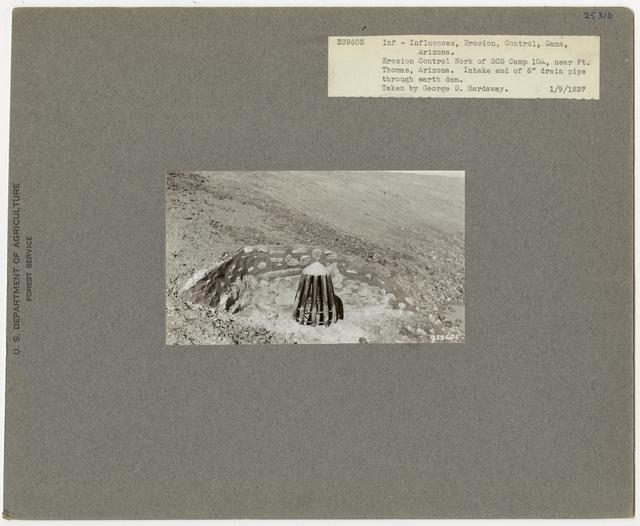 Erosion Control: Gully Plug - Arizona