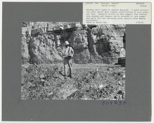 Erosion Control: Gully Plug - Kentucky